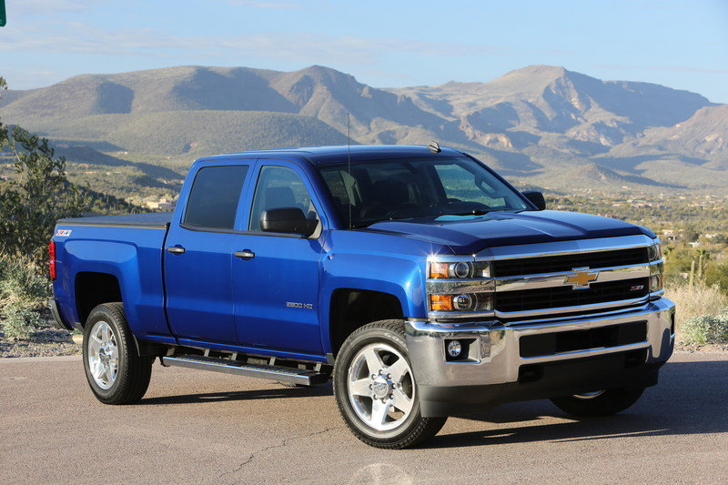 2016 Chevrolet Silverado HD High Resolution Exterior - image 648532