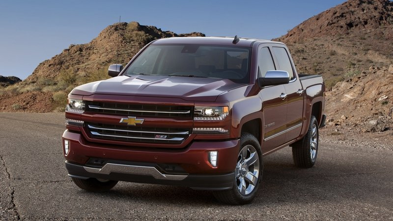 2016 Chevrolet Silverado High Resolution Exterior - image 648480