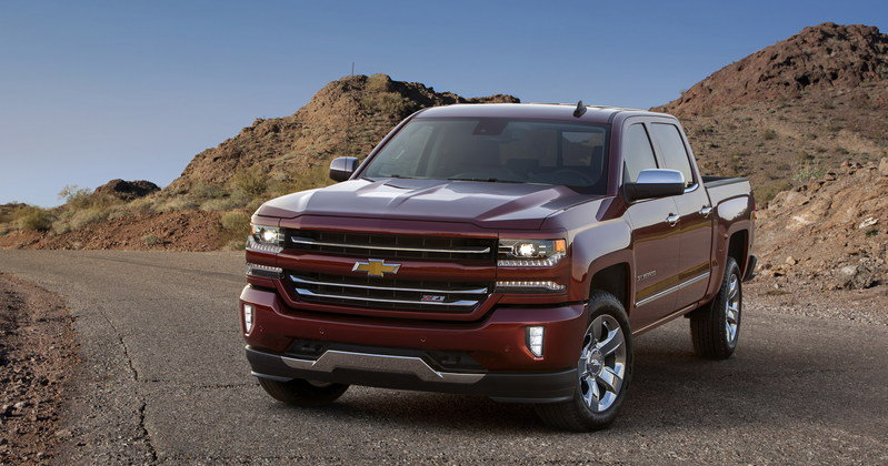 2016 Chevrolet Silverado High Resolution Exterior - image 648466