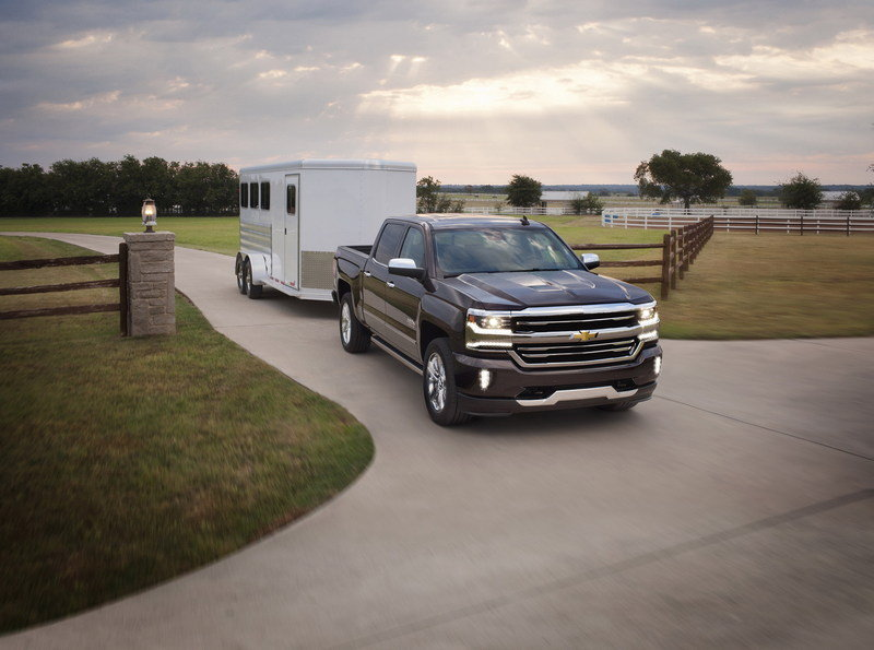 2016 Chevrolet Silverado High Resolution Exterior - image 648470