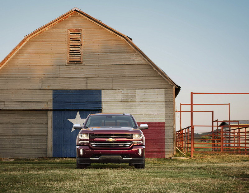 2016 Chevrolet Silverado High Resolution Exterior - image 648465