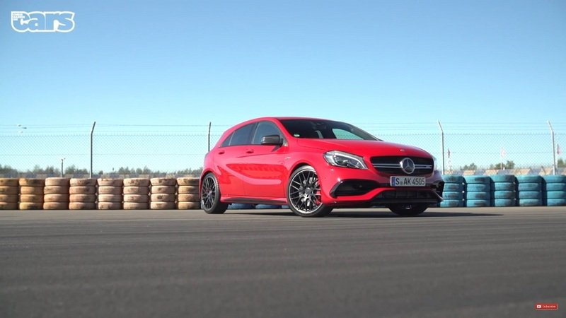 Chris Harris Makes Short Report On 2015 Frankfurt; Drives A45 AMG: Video