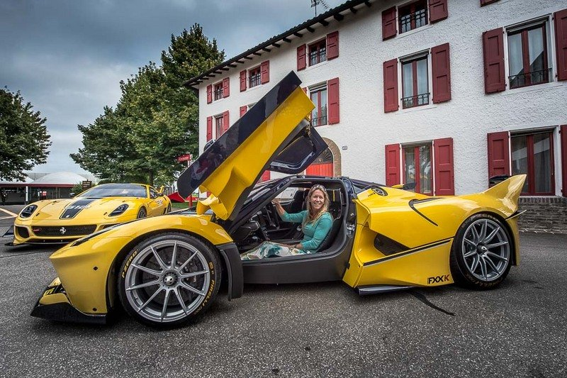 The Mrs Drives Her Ferrari FXX K At Fiorano: Video