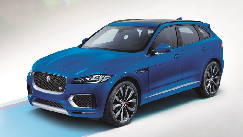 2016 Jaguar F-Pace First Edition