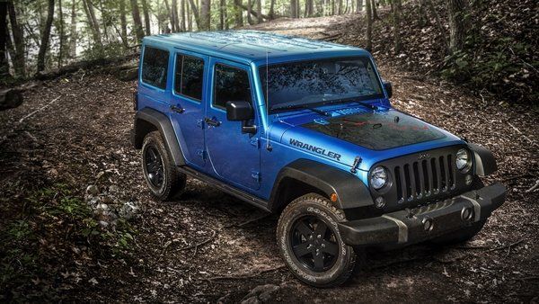 2016 Jeep Wrangler Black Bear Edition Truck Review Top