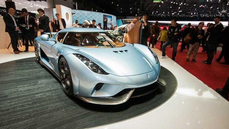 Koenigsegg Regera One Gear Transmission Explained: Video
