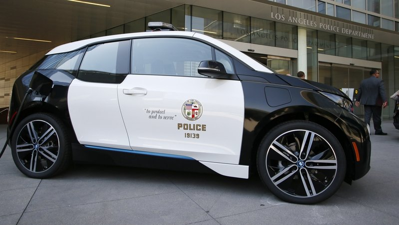 LAPD Adds BMW i3 To Its Fleet
