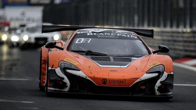 McLaren 650S GT3 Wins At Blancpain Endurance Series