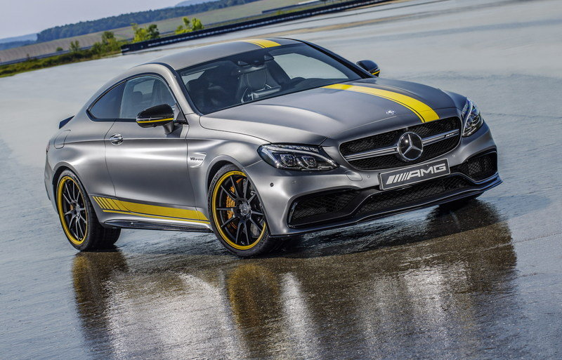 2016 Mercedes-AMG C63 Coupe Edition 1 High Resolution Exterior Wallpaper quality - image 644717