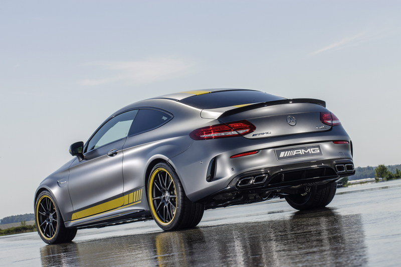 2016 Mercedes-AMG C63 Coupe Edition 1 High Resolution Exterior Wallpaper quality - image 644718