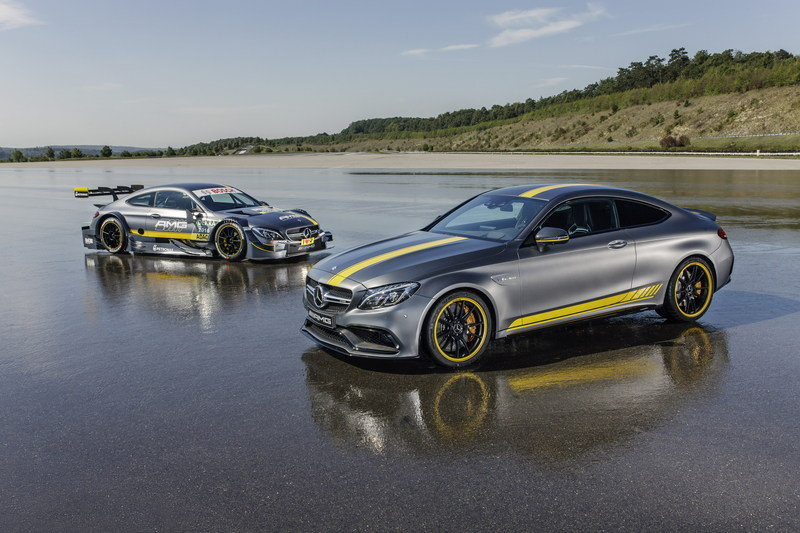 2016 Mercedes-AMG C63 Coupe Edition 1 High Resolution Exterior - image 644715