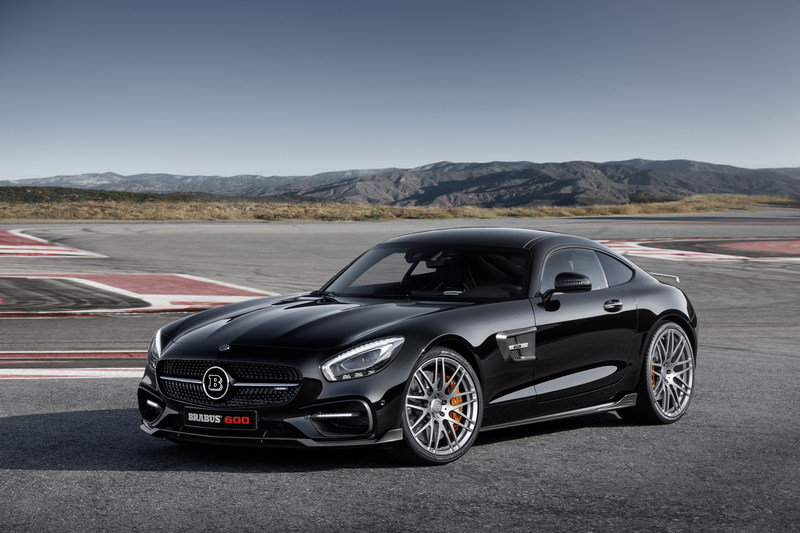 2016 Mercedes-AMG GT S By Brabus High Resolution Wallpaper quality - image 645555