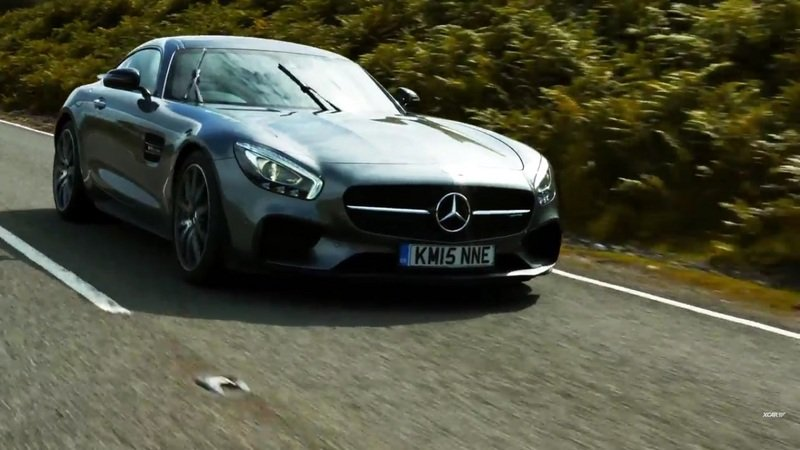Mercedes-AMG GT S Reviewed By EVO: Video