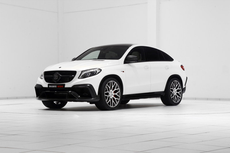2016 Mercedes GLE Coupe 850 By Brabus High Resolution Exterior - image 646620