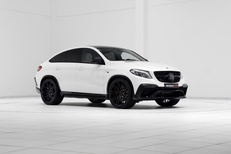 2016 Mercedes GLE Coupe 850 By Brabus