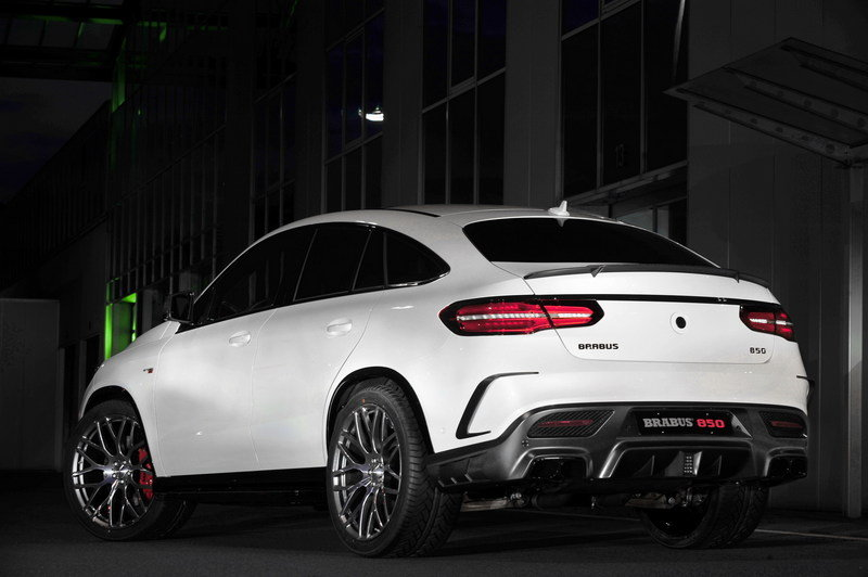 2016 Mercedes GLE Coupe 850 By Brabus High Resolution Exterior - image 646609