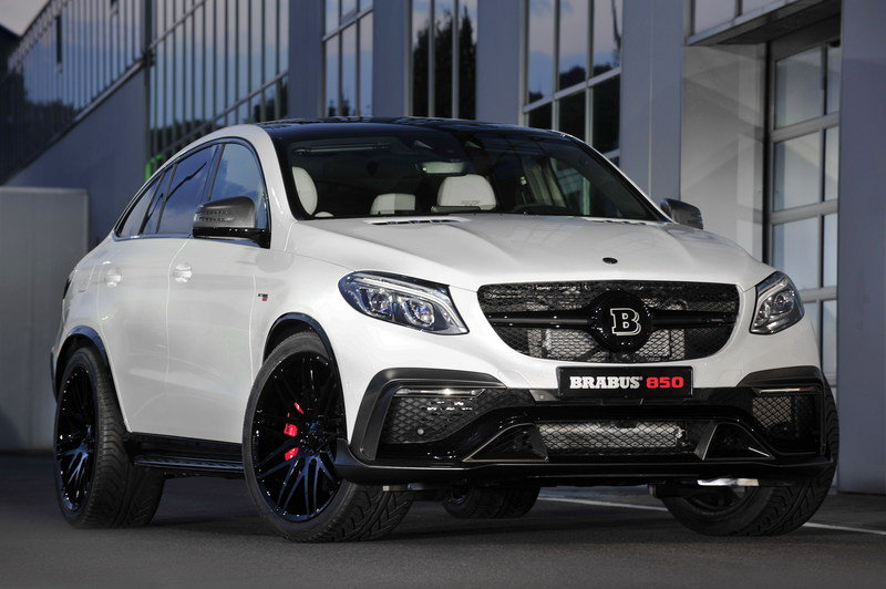 2016 Mercedes GLE Coupe 850 By Brabus High Resolution Exterior - image 646607