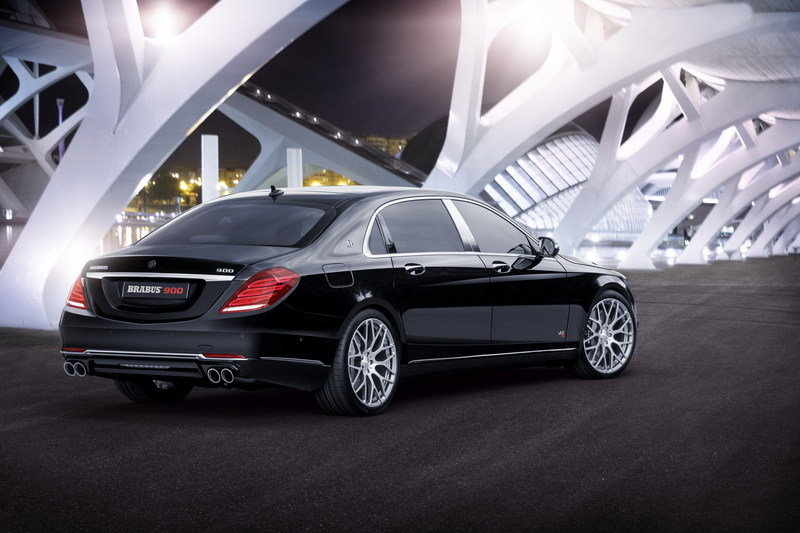 2016 Mercedes-Maybach 900 By Brabus High Resolution Exterior Wallpaper quality - image 647094