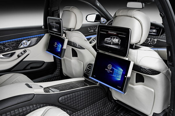 Luxury Vehicle: 2016 Mercedes-Maybach 900 By Brabus