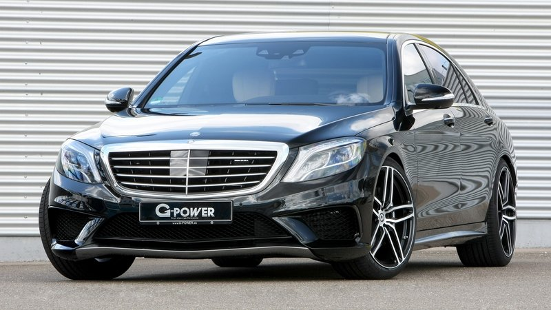 2015 Mercedes S63 AMG By G-Power