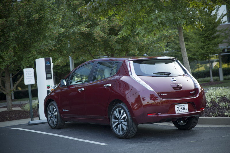 2016 Nissan Leaf High Resolution Exterior - image 645351