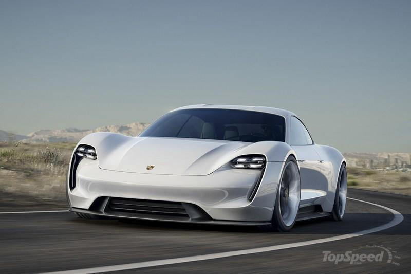 2015 Porsche Mission E Concept High Resolution Exterior Wallpaper quality - image 645964