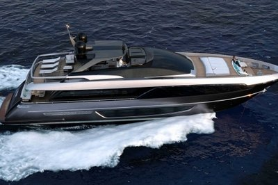 Riva Unveils 100 Corsaro SuperYacht At Cannes Yachting Festival