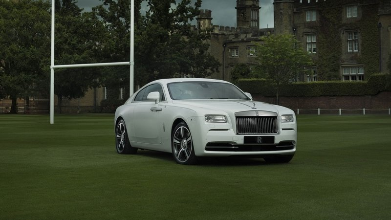 "2016 Rolls-Royce ""Wraith - History of Rugby"""