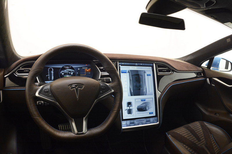2015 Tesla Model S By Brabus High Resolution Interior - image 646603