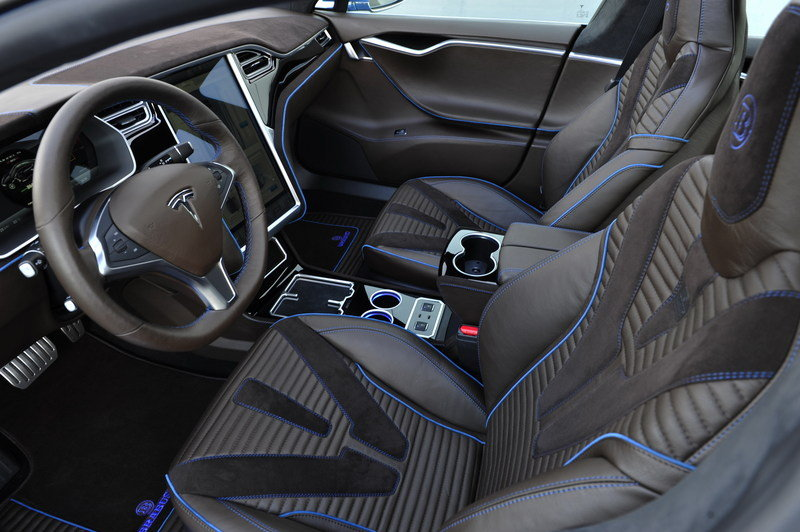 2015 Tesla Model S By Brabus High Resolution Interior - image 646580