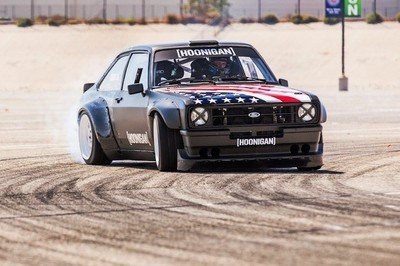 1978 Ford Escort Mk2 RS Is Ken Block's First RWD Gymkhana Car: Video