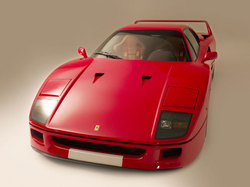 1991 Ferrari F40 Fails To Sell At Auction