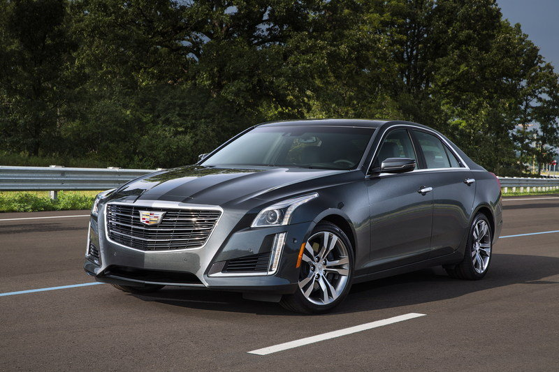 2015 - 2016 Cadillac CTS Sedan High Resolution Exterior Wallpaper quality - image 650370