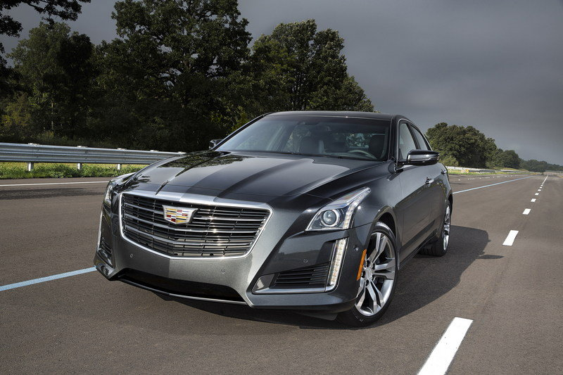 2015 - 2016 Cadillac CTS Sedan High Resolution Exterior - image 650371
