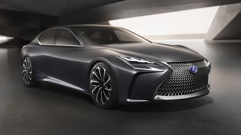Next-Generation Lexus LS Tipped For 2017 Arrival