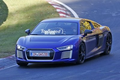2016 Audi R8 E Tron Top Speed