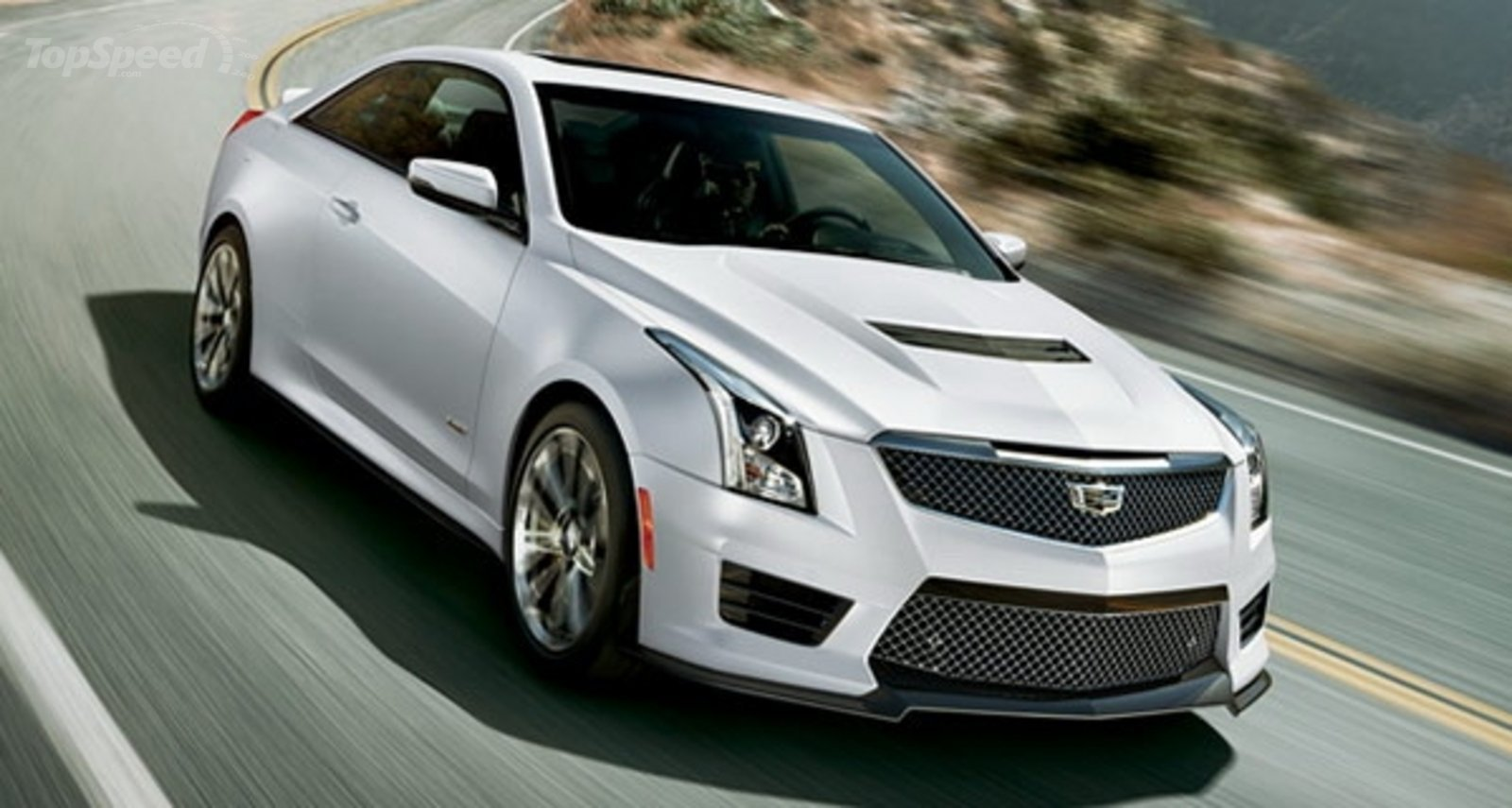 Cadillac Ats V Coupe >> 2016 Cadillac ATS-V Crystal White Frost Edition Review - Top Speed
