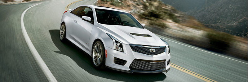 2016 Cadillac ATS-V Crystal White Frost Edition
