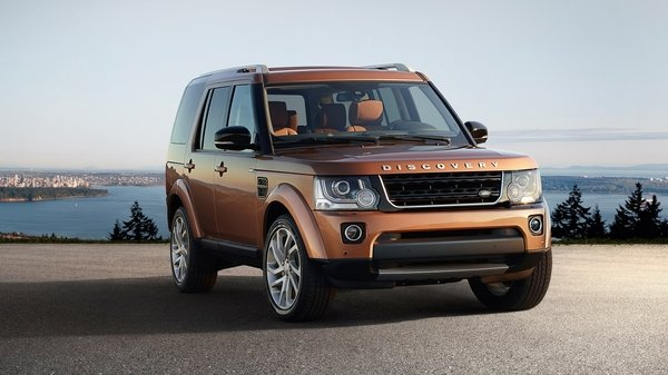 2016 land rover discovery landmark review top speed. Black Bedroom Furniture Sets. Home Design Ideas