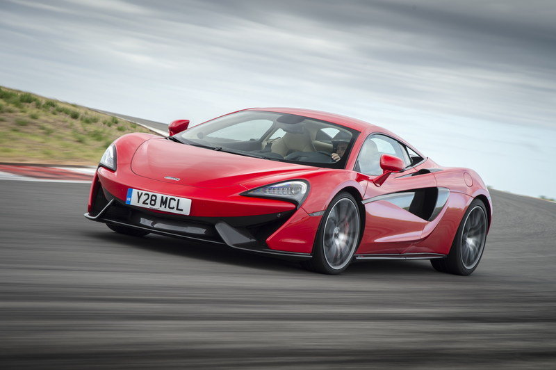 2016 McLaren 570S Coupe High Resolution Exterior - image 651793