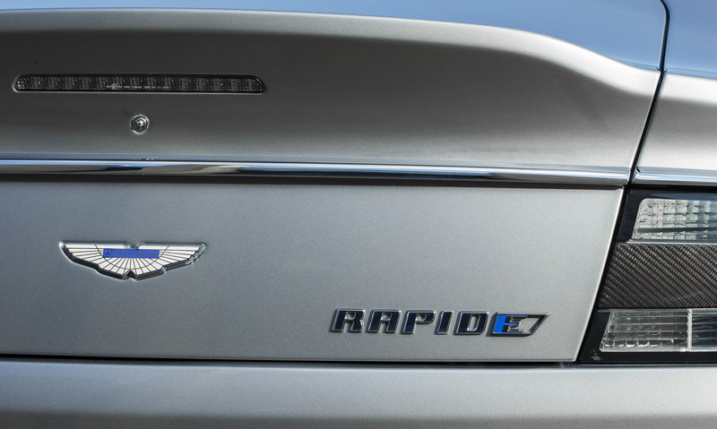 The 2020 Aston Martin Rapide E is Getting Exclusive Tires From Pirelli