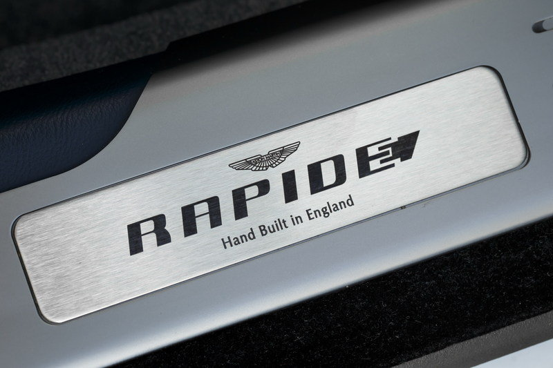 The 2020 Aston Martin Rapide E Is Getting Exclusive Tires From