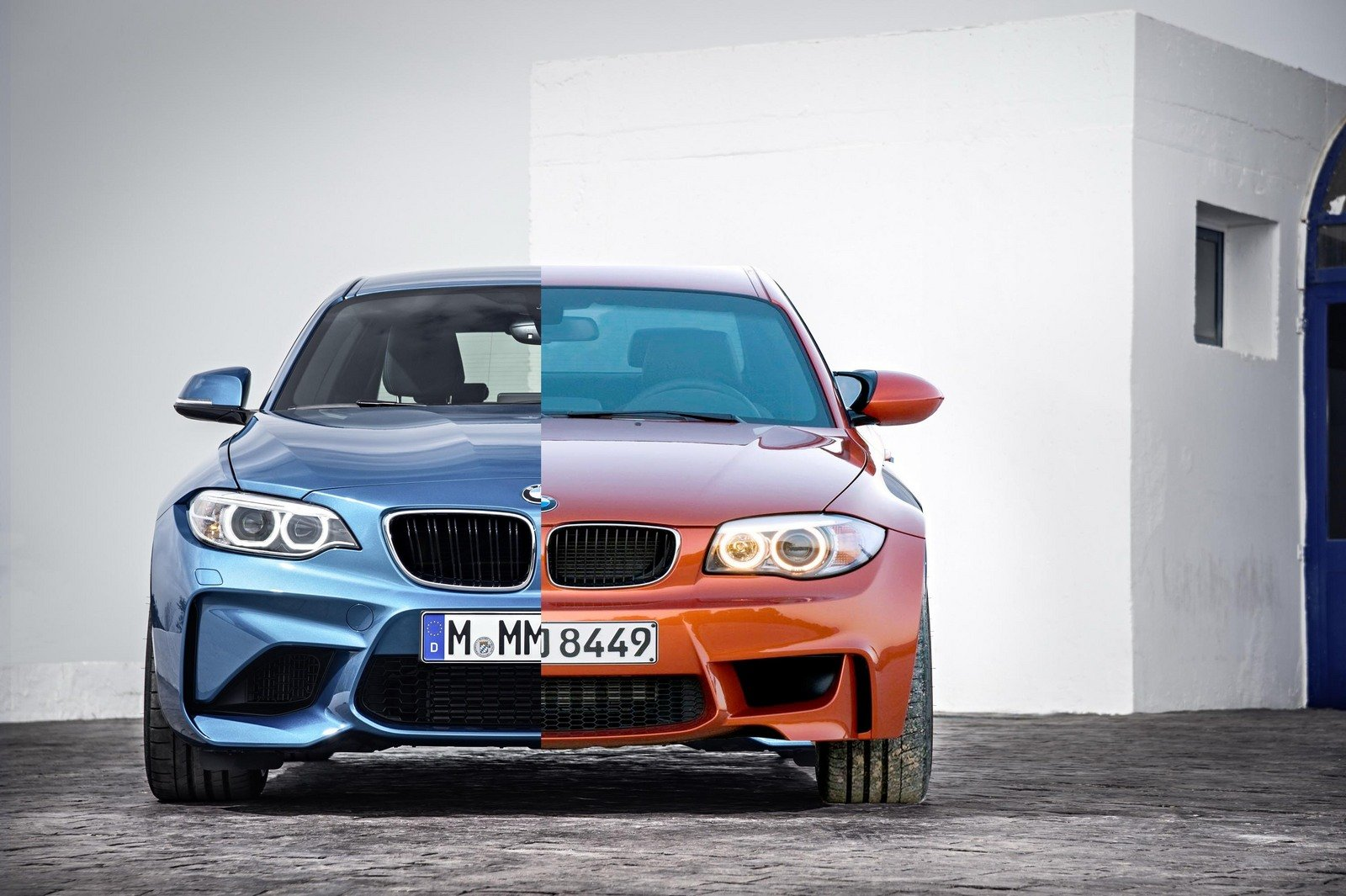 Pebble Beach Car Show >> BMW M2 Vs. 1M Coupe - Picture 650793 | car News @ Top Speed