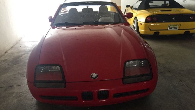 BMW Z1 Barn Find... Sort Of
