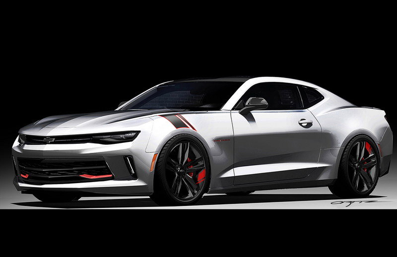 2016 Chevrolet Camaro Red Line Series Concept Top Speed