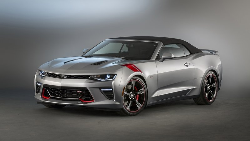 2016 Chevrolet Camaro SS Red Accent Package Concept