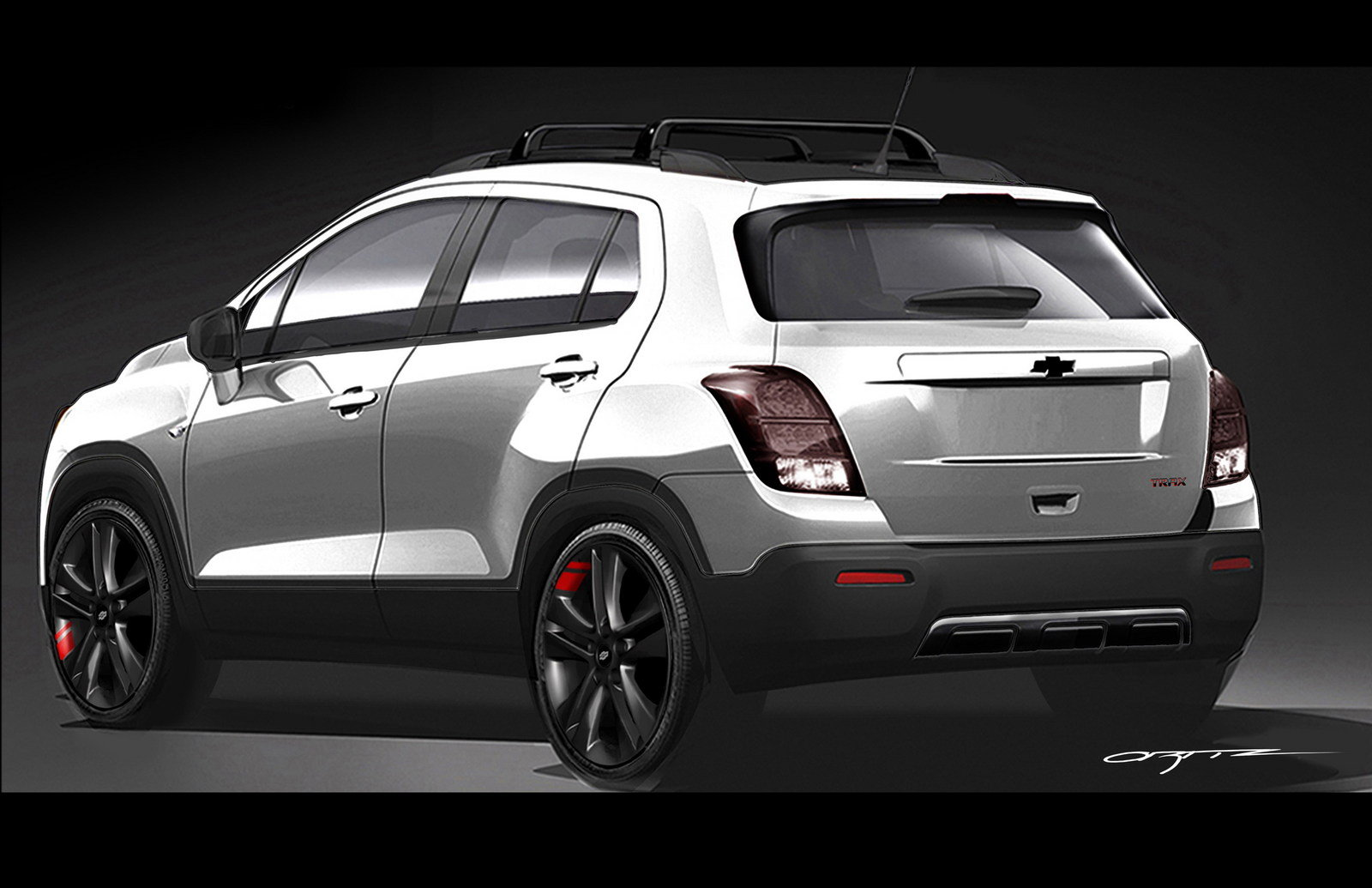 2016 Chevrolet Trax Red Line Series Concept Picture