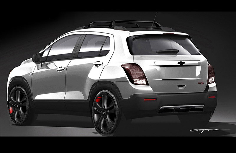2016 Chevrolet Trax Red Line Series Concept