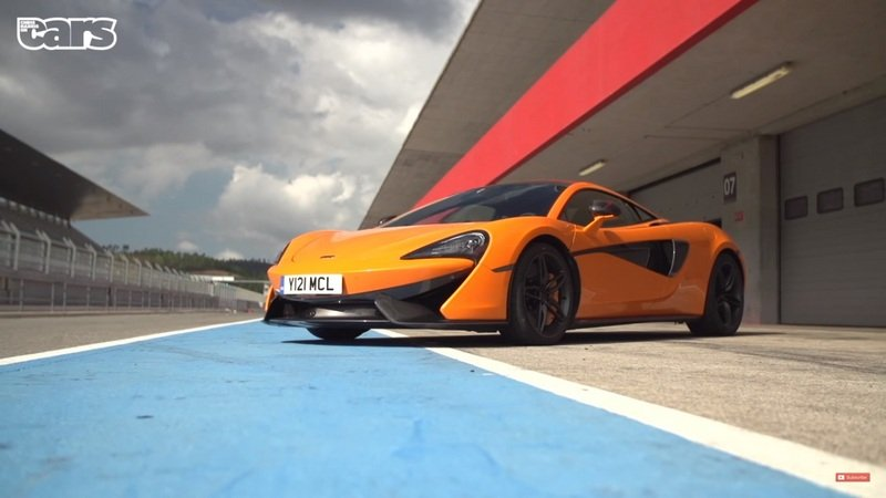 Chris Harris Drives The McLaren 570S: Video