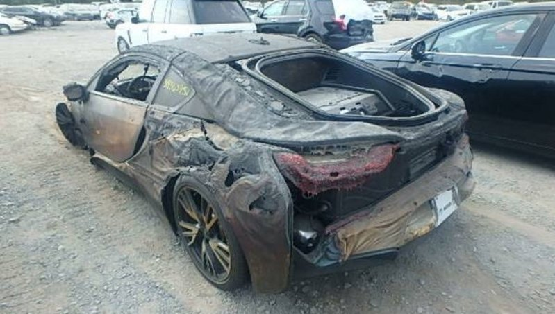 Fire-Totaled BMW I8 For Sale On Craigslist | Top Speed